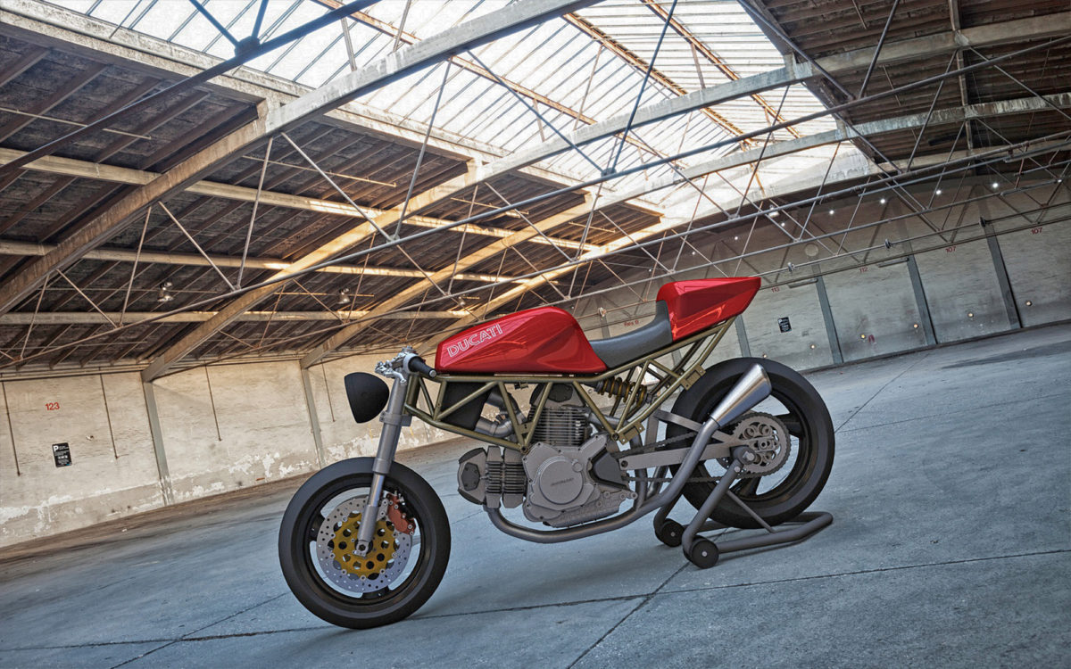 Ss Ducati Cafe Racer